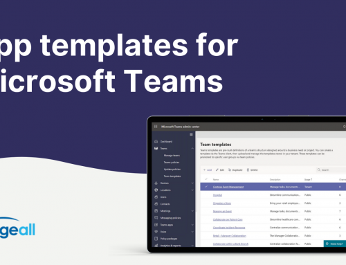 App Templates for Microsoft Teams