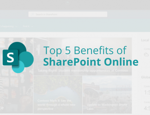 Top 5 Benefits of SharePoint Online